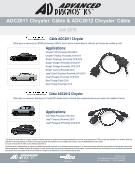 Thumbnail ADC2011 & ADC2012 Chrysler Cable - French