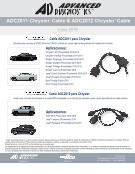 Thumbnail ADC2011 & ADC2012 Chrysler Cable - Spanish